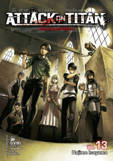 Attack On Titan (Shingeki no Kyojin) 13