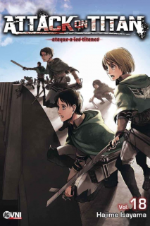Attack On Titan (Shingeki no Kyojin) 18