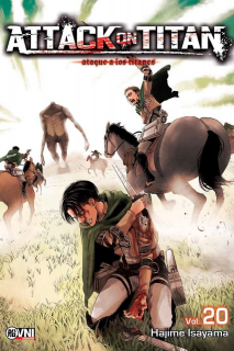 Attack On Titan (Shingeki no Kyojin) 20