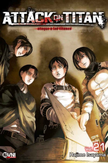 Attack On Titan (Shingeki no Kyojin) 21