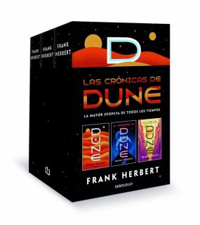 Las crónicas de Dune (pack con: Dune | El mesías de Dune | Hijos de Dune): La mayor epopeya de todos los tiempos