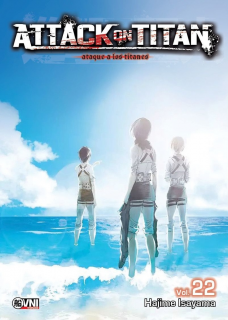 Attack On Titan (Shingeki no Kyojin) 22