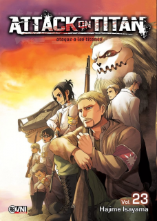 Attack On Titan (Shingeki no Kyojin) 23
