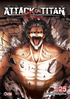 Attack On Titan (Shingeki no Kyojin) 25