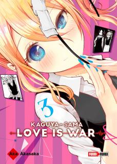 Kaguya-Sama: Love is War 03 (Panini Argentina)