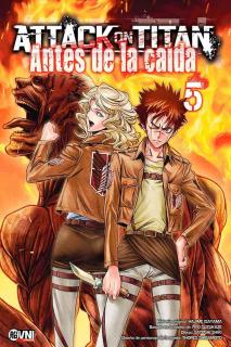Attack on Titan: Antes de la caída 05