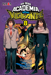 My Hero Academia Vigilante Illegals 08 (Ivrea Argentina)