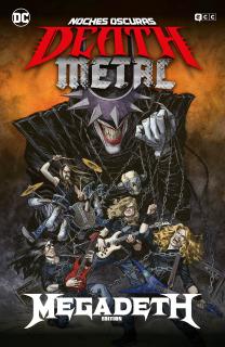 Noches oscuras: Death Metal 01 De 7 (Megadeth Band Edition) (Tapa Dura)
