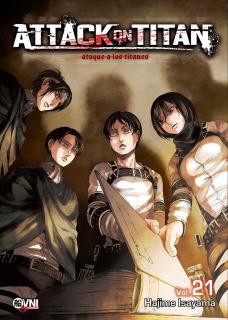 Attack On Titan (Shingeki no Kyojin) 21
