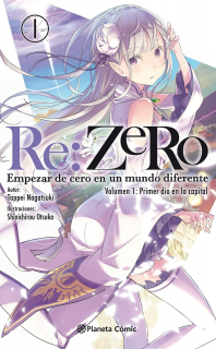 Re:Zero 01 (novela): Primer Día en la Capital