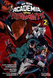 My Hero Academia Vigilante Illegals 02 (Ivrea Argentina)