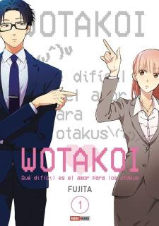 Wotakoi: Qué difícil es el amor para un otaku 01