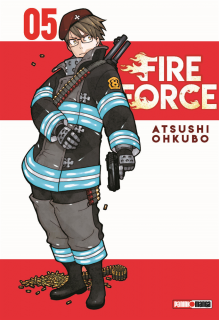 Fire Force 05 (Panini Argentina)