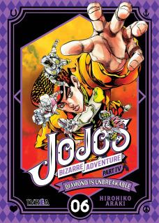 Jojo's Bizarre Adventure Parte IV: Diamond is Unbreakable 06  (Ivrea Argentina)