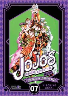 Jojo's Bizarre Adventure Parte IV: Diamond is Unbreakable 07 (Ivrea Argentina)