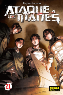 Ataque A Los Titanes (Shingeki no Kyojin) 21