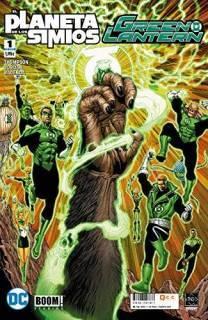 Green Lantern/El Planeta De Los Simios 01 (De 6)