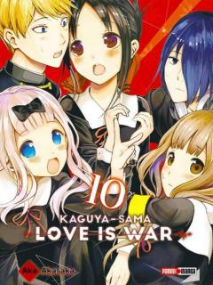 Kaguya-Sama: Love is War 10 (Panini Argentina)