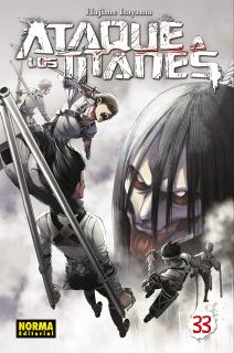 Ataque A Los Titanes (Shingeki no Kyojin) 33