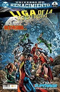 Liga De La Justicia 59/ 4 (Renacimiento)