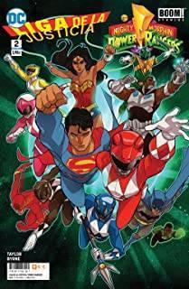 Liga De La Justicia/Power Rangers 02 (De 6)