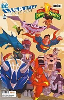 Liga De La Justicia/Power Rangers 06 (De 6)