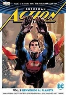 Superman Action Comic 02 (Renacimiento) Bienvenido Al Planeta