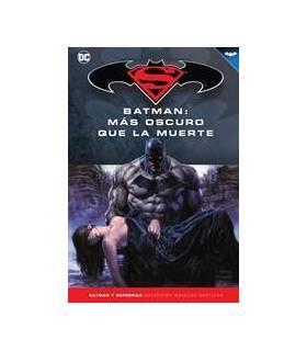 Colección Batman y Superman 47: Batman: Más Oscuro Que La Muerte